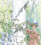 Carl Larsson Spring oil painting picture wholesale