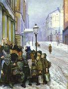 Christian Krohg Kampen for tilvarelsen oil painting picture wholesale