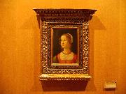 Domenico Ghirlandaio Portrait of a Young Woman oil painting picture wholesale