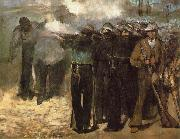 Edouard Manet The Execution of Emperor Maximilian, oil painting picture wholesale