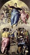 El Greco The Assumption of the Virgin oil painting picture wholesale