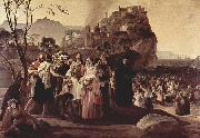 Francesco Hayez The Refugees from Parga oil painting picture wholesale