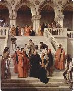 Francesco Hayez The Death of the Doge Marin Faliero oil painting picture wholesale