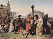 Francesco Hayez Sicilian Vespers, Scene 3 oil painting picture wholesale