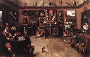 Francken, Frans II An Antique Dealer's Gallery oil painting artist