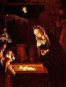 Geertgen Tot Sint Jans Geertgen depicted the Child Jesus as a light source on his painting The Nativity at Night oil painting picture wholesale