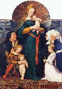 Hans holbein the younger Darmstadt Madonna, oil painting picture wholesale