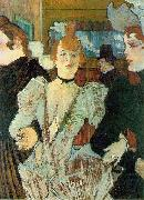 Henri de toulouse-lautrec La Goulue arriving at the Moulin Rouge oil painting picture wholesale