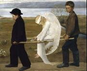 Hugo Simberg The Wounded Angel from 1903, oil painting picture wholesale