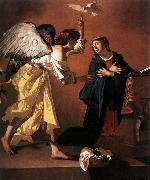 JANSSENS, Jan The Annunciation oil painting artist