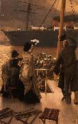 James Tissot Goodbye, on the Mersey, oil painting reproduction