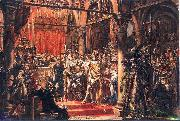 Jan Matejko Coronation of the First King of Poland oil painting picture wholesale