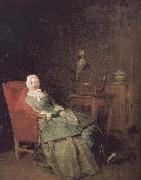Jean Baptiste Simeon Chardin Take the book of women oil painting picture wholesale