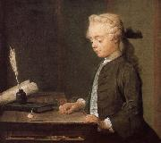 Jean Baptiste Simeon Chardin PLAYING gyro juvenile Spain oil painting reproduction
