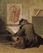Jean Baptiste Simeon Chardin People are painting oil painting picture wholesale