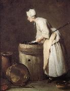 Jean Baptiste Simeon Chardin Cleaning maid oil painting picture wholesale