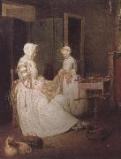 Jean Baptiste Simeon Chardin Hard-working mother oil painting picture wholesale