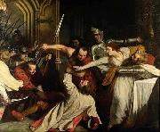 John Opie The Murder of Rizzio, by John Opie oil painting