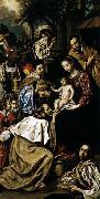Luis Tristan The Adoration of the Magi oil painting artist