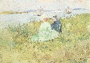Maurice Prendergast Viewing the Ships oil painting picture wholesale