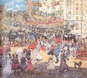 Maurice Prendergast Madison Square oil painting artist