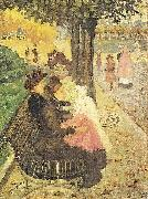 Maurice Prendergast The Tuileries Gardens oil painting artist