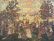 Maurice Prendergast Salem Willows oil painting artist
