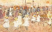 Maurice Prendergast South Boston Pier oil painting picture wholesale