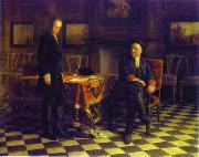 Nikolai Ge Peter the Great Interrogating the Tsarevich Alexei Petrovich at Peterhof, oil painting picture wholesale