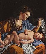 Orazio Gentileschi Madonna with Child by Orazio Gentileschi. oil painting picture wholesale
