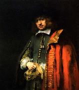 REMBRANDT Harmenszoon van Rijn Portrait of Jan Six, oil painting picture wholesale