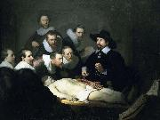 REMBRANDT Harmenszoon van Rijn Anatomy Lesson of Dr. Nicolaes Tulp, oil painting picture wholesale