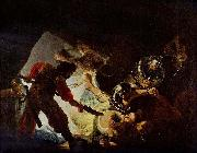 REMBRANDT Harmenszoon van Rijn The Blinding of Samson, oil painting picture wholesale