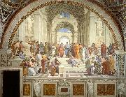 Raphael The School of Athens, Stanza della Segnatura oil painting picture wholesale