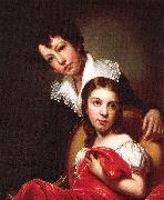 Rembrandt Peale Michaelangelo and Emma Clara Peale oil painting artist