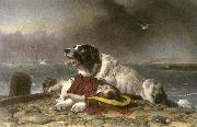Sir edwin henry landseer,R.A. Saved oil painting artist