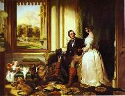 Sir edwin henry landseer,R.A. Windsor Castle in Modern Times oil painting picture wholesale