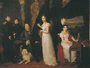 Vasily Tropinin Family portrait of counts Morkovs, oil painting picture wholesale