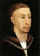 WEYDEN, Rogier van der Portrait of Philip the Good oil