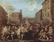 William Hogarth March of the Guards to Finchley oil painting picture wholesale