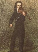 georges bizet the legendary violinist niccolo paganini in spired composers and performers oil painting picture wholesale