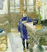 Carl Larsson tage thiel-tage oil painting reproduction