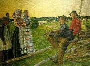 Carl Wilhelmson juniafton oil