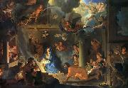 Charles le Brun Adoration by the Shepherds oil painting artist