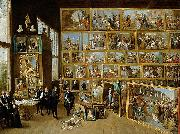 David Teniers the Younger Erzherzog Leopold Wilhelm in seiner Galerie in Brussel oil painting