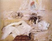 Edouard Vuillard Naked women and white mat oil painting reproduction