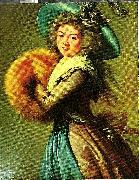 Elizabeth Louise Vigee Le Brun madame mole raymond oil painting reproduction