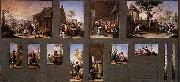 Francisco Bayeu Painting with Thirteen Sketches oil painting artist