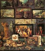 Frans Francken II Art Room oil painting artist