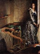 Paul Baudry Charlotte Corday oil painting artist